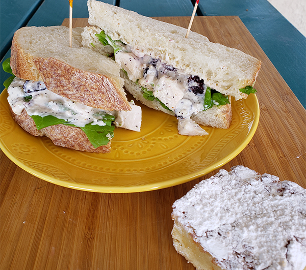 chicken salad sandwich