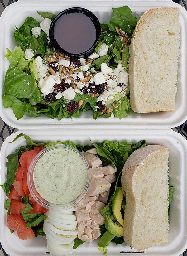 boxed lunch salads