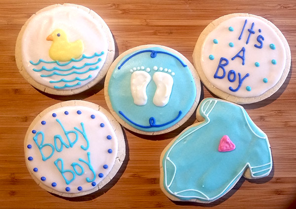 Gourmet Hand Decorated Iced Sugar Cookies From Best Regards Bakery