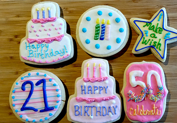 Birthday Sugar Cookies