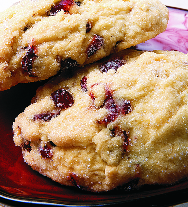 cranberry orange cookie