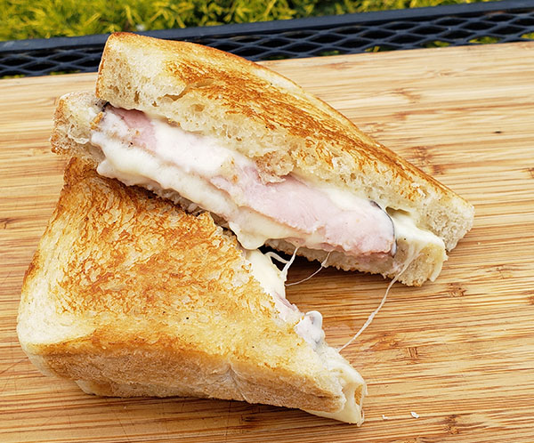 jerrys ham and cheese grilled cheese