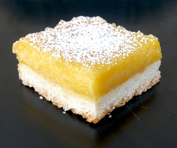 lemon bar at best regards bakery