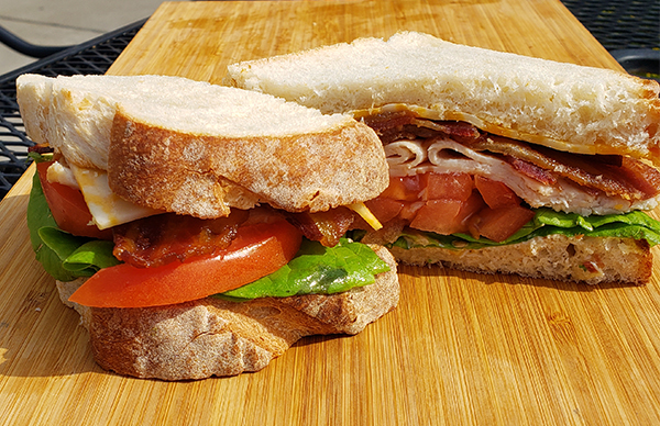 new and improved turkey club sandwich