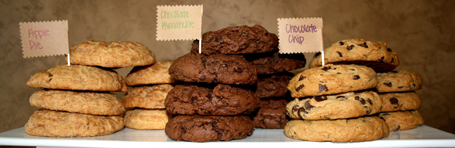 Fresh baked cookies from Best Regards Bakery