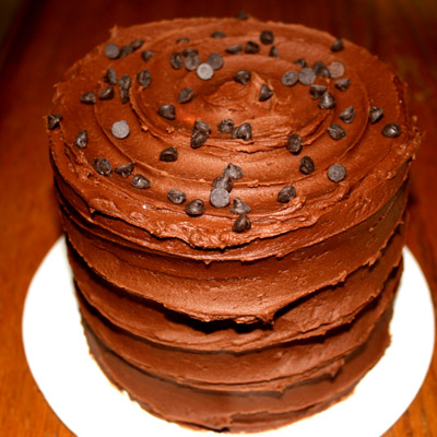 Chocolate Tall Cake