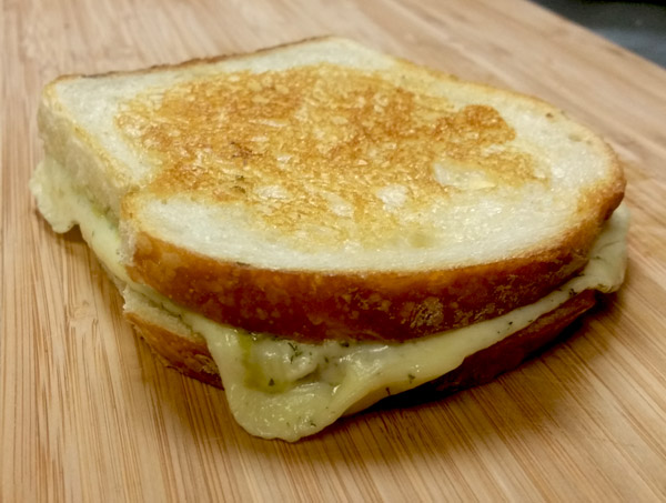 the Real Dill Grilled Cheese