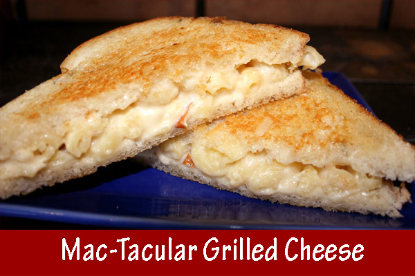 macaroni & cheese grilled cheese