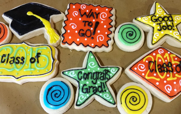 Gourmet Hand Decorated Iced Sugar Cookies from Best Regards